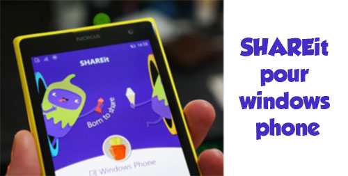 Shareit pour windows phone
