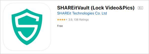 SHAREit Vault